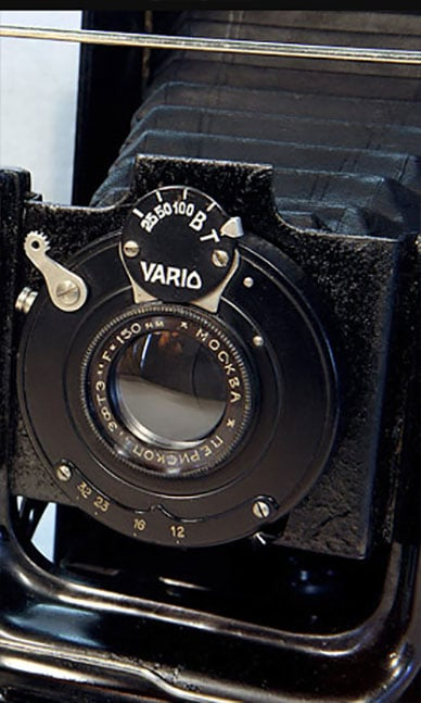ussr large format cameras made in soviet union